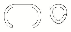 Металлические оцинкованные кольца