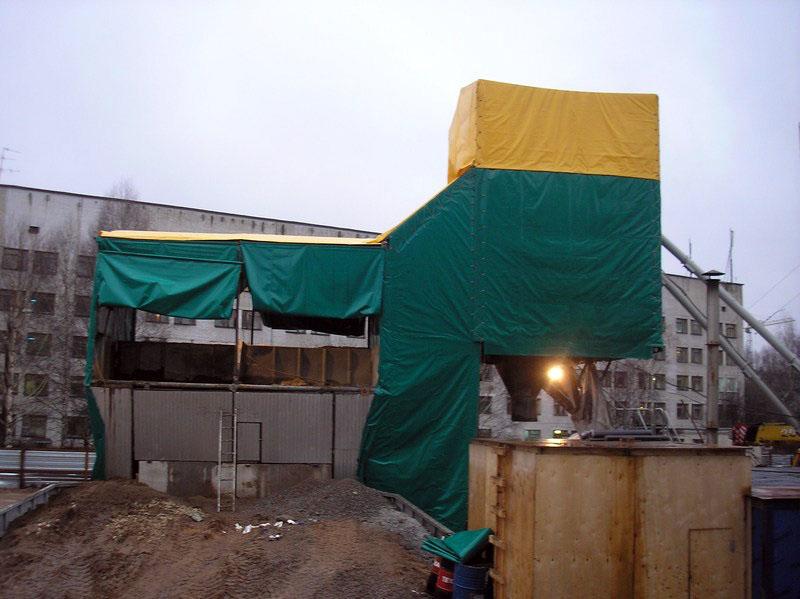 Строительные укрытия