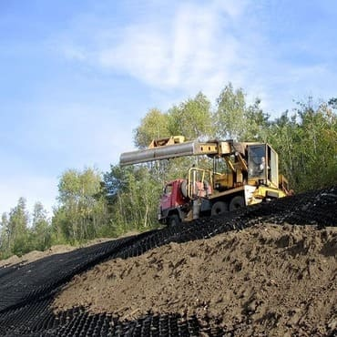 Применение георешетки в дорожном строительстве