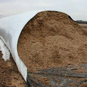 Хранение в зерновых рукавах
