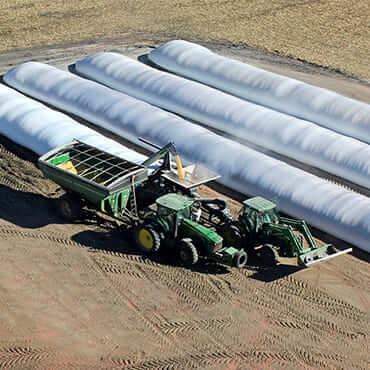 Зерновые рукава